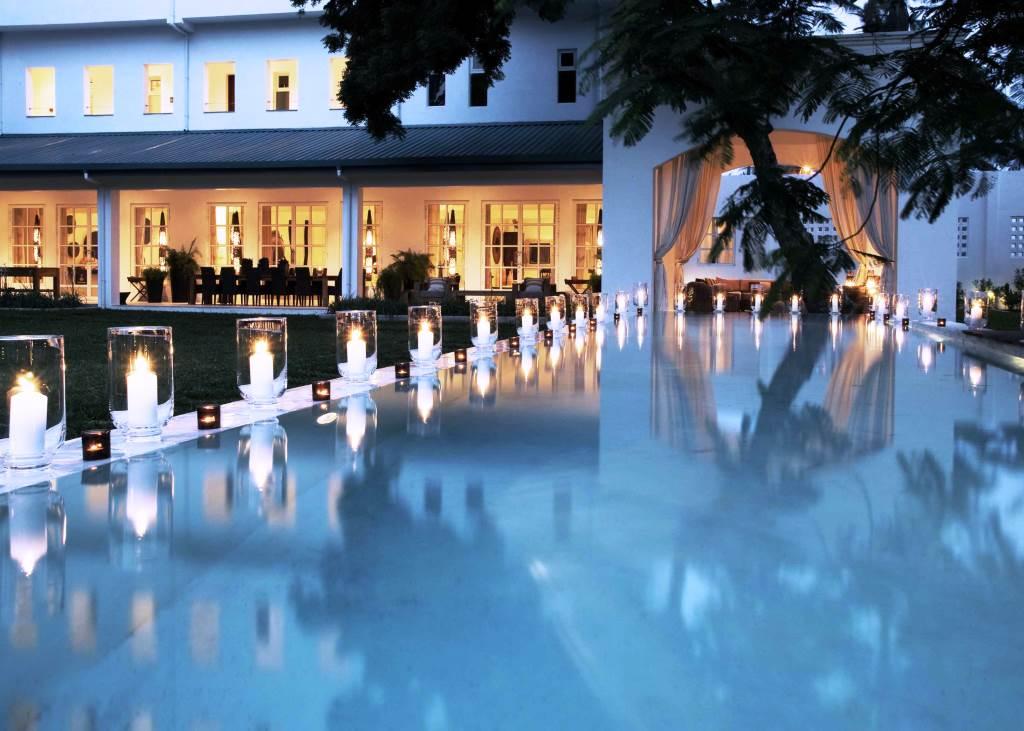 Oyster Bay Hotel Pool Dar es Salaam Tanzania