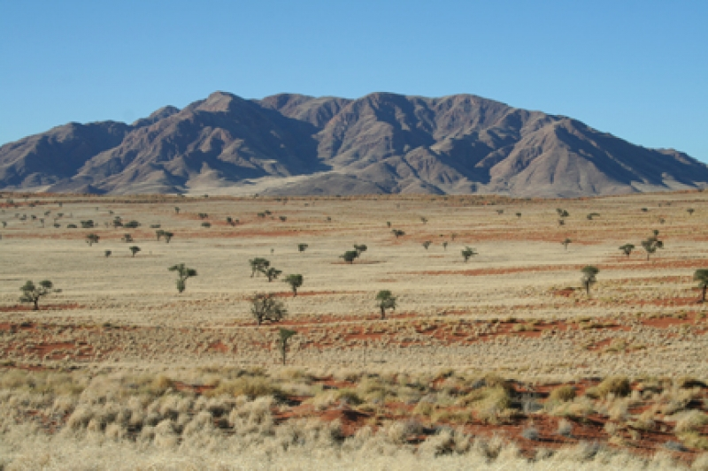 Namibia scenery on a self drive holiday