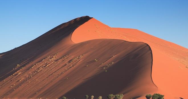 Sossusvlei dunes, Image credit Sossus Dune Lodge