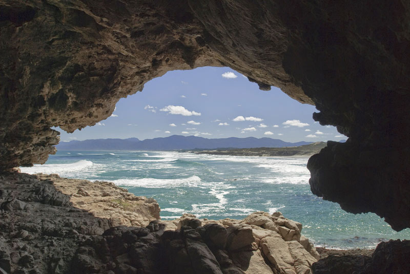Grootbos Coast south africa cape town - cave and sea