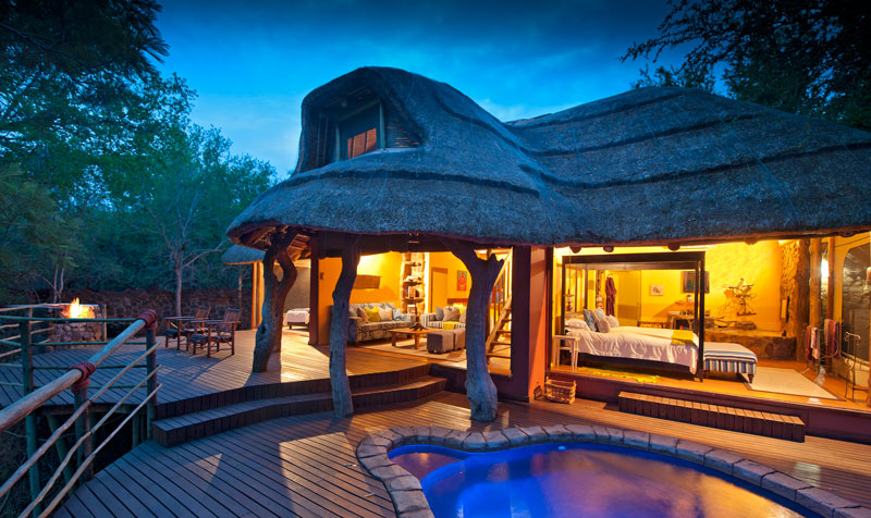 Jaci's Safari Lodge Nare Suite malaria free