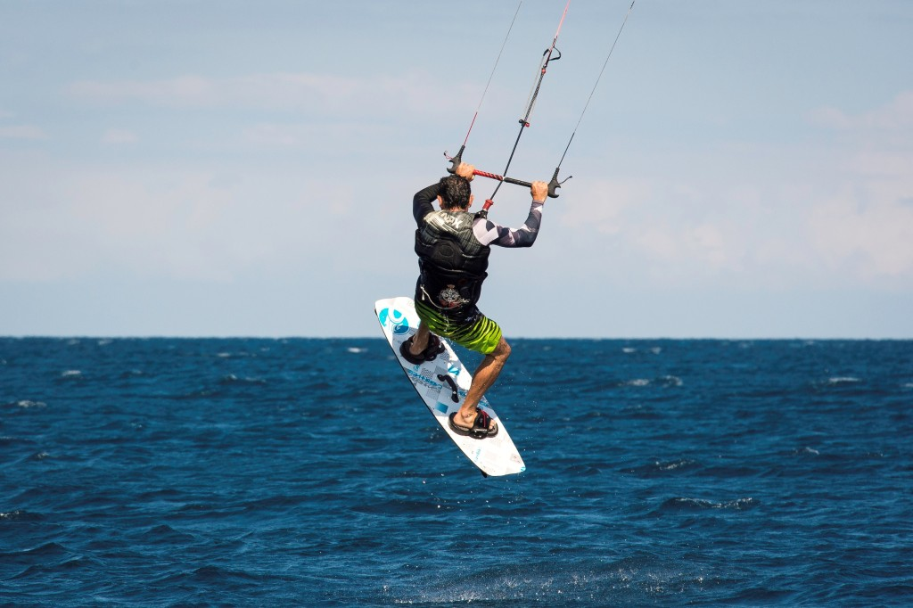 Kite Surfing at Kaya Mawa