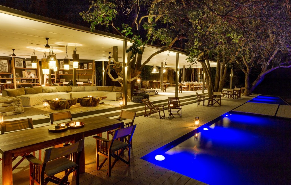 Zambian luxury lodge, Chinzombo