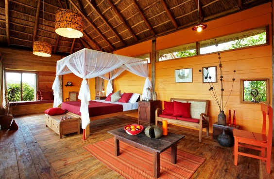 Accommodation at Kyambura Gorge Lodge