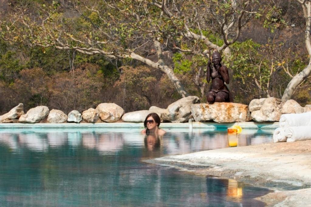 Camp Amalinda pool, Matobo Hills, Zimbabwe
