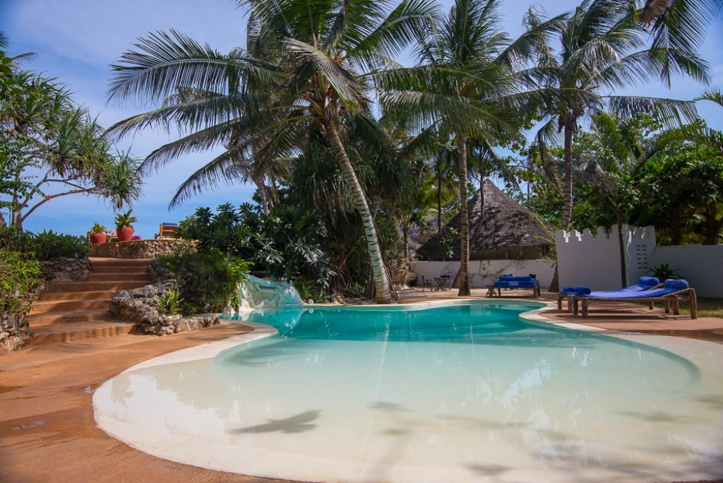 Matemwe Lodge pool, Zanzibar Coast, Zanzibar and Islands