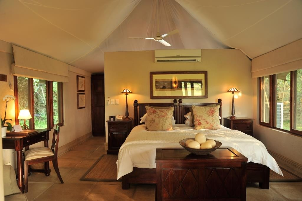 Tented luxury suite at Savanna Lodge Sabi Sand Kruger South Africa