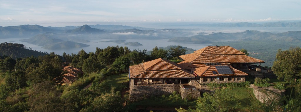 View from Virunga Lodge Virunga Rwanda Volcanoes Safaris