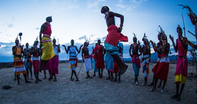 Samburu tribal dance