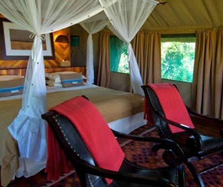 Selinda Camp Tent Linyanti Botswana