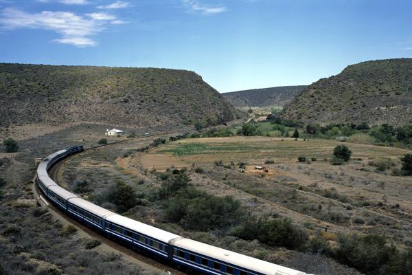 Blue Train Karoo luxury train