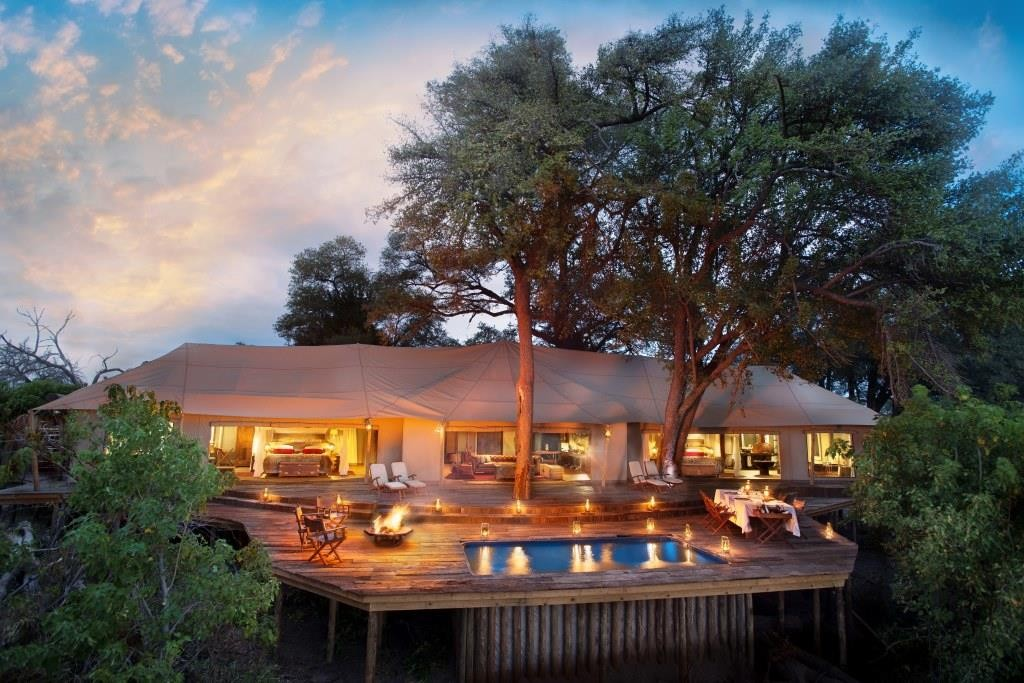 safari house Zarafa Dhow Suites, Chobe Linyanti, Botswana