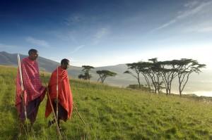 Masai at Ngorongoro Crater, Tanzania the hunt