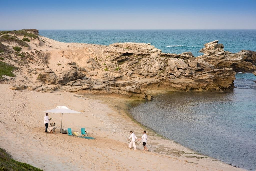 Morukuru Ocean House - beach romantic picnic South Africa