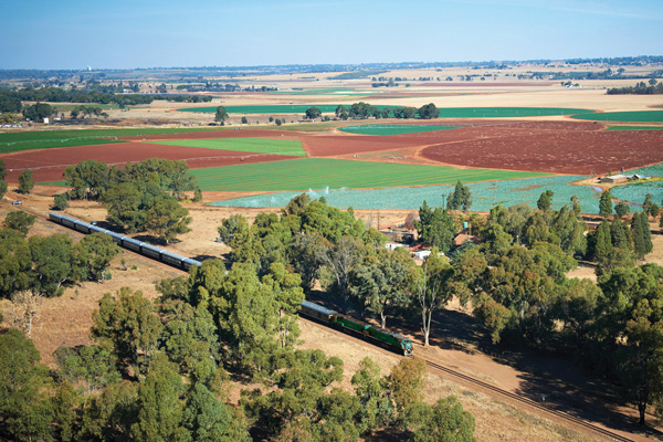 Rovos Rail Landscape, luxury train