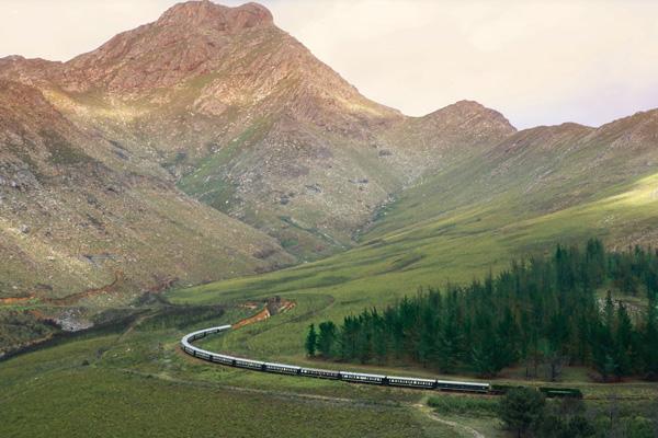 Rovos Rail South Africa, luxury train
