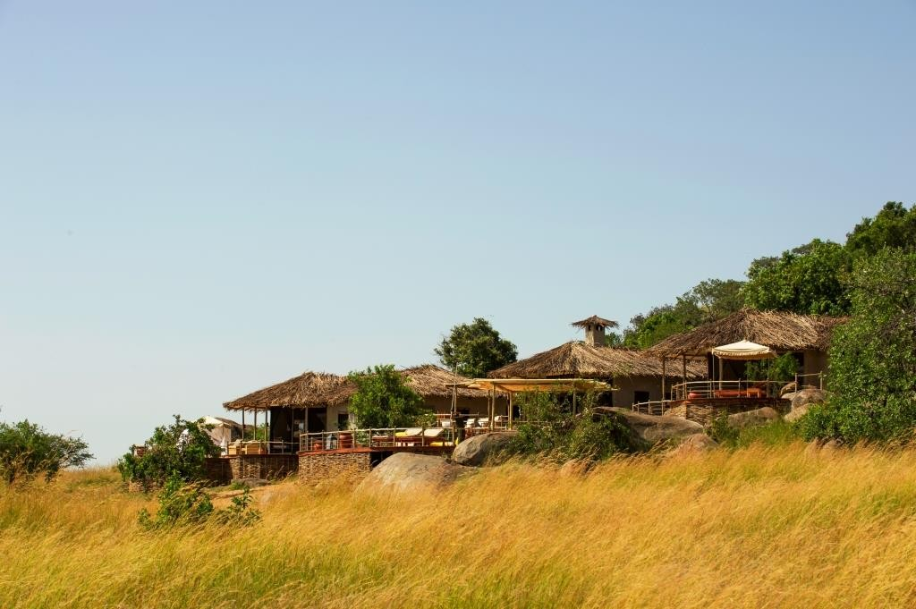 exterior hill safari house Mkombe's House, Serengeti, Tanzania