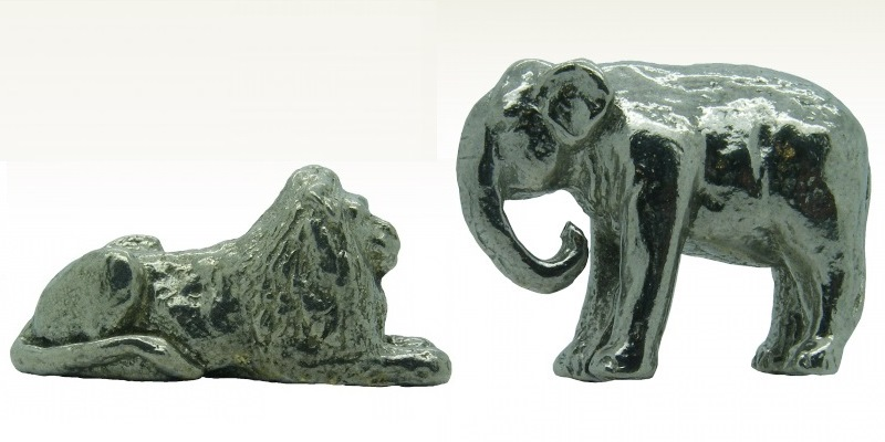 WWF lion and elephant whimsies