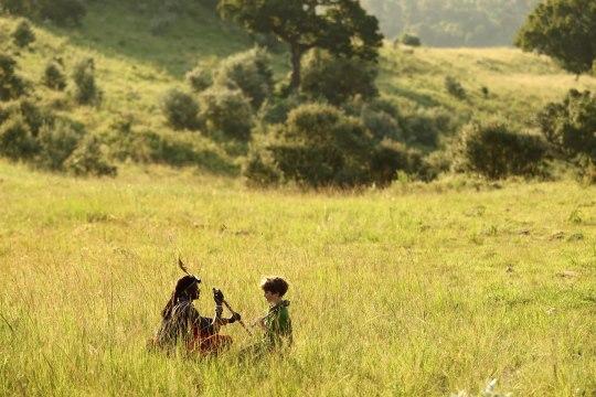 Angama Mara - Masai Guide Family