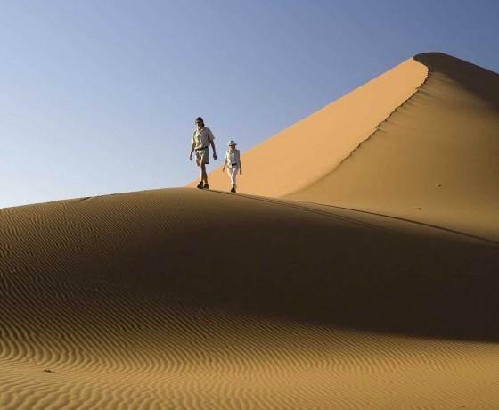 Giant dunes and exquisite desert