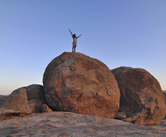 Rock art at Matobo Hills