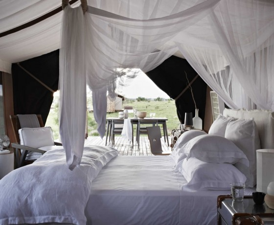 Stunning tented camps