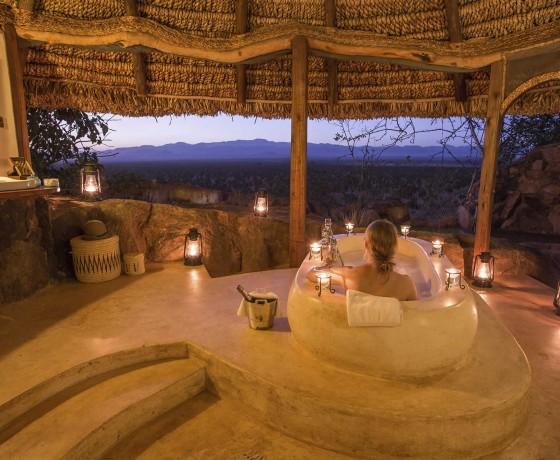 Private safari houses