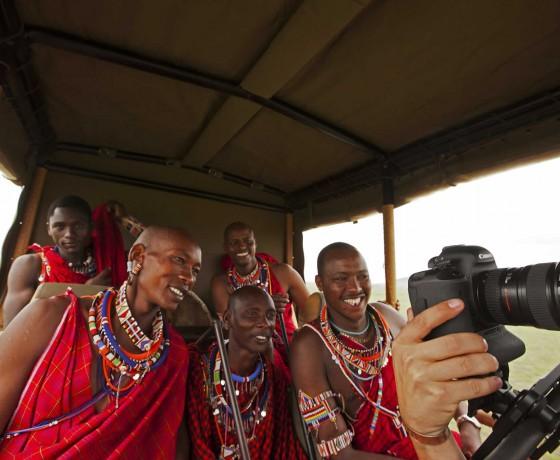 Tutorials whilst on safari