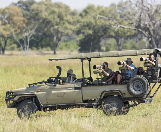 Specialist photographic safaris