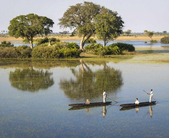 Safari and canoe combinations