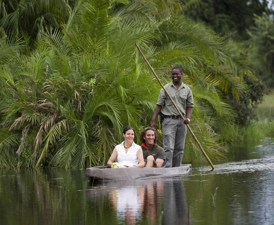 Polling through the Okavango Delta
