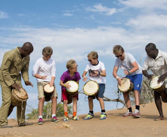 Family safari activities