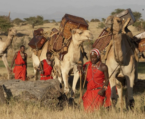 Multi day camel treks in Kenya