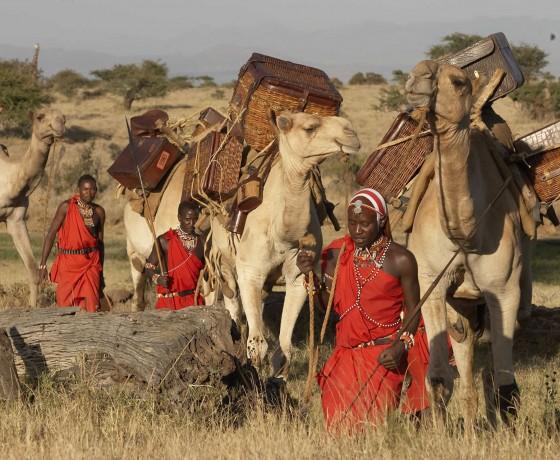 Multi day camel treks in Kenya