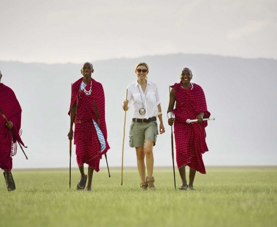 Walking safaris in Tanzania