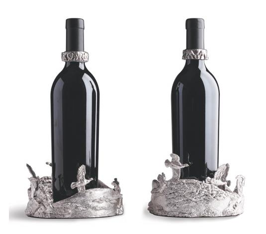 Grouse Silver Wine Coasters