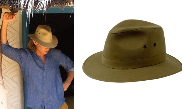 Hickman and Bousfield - Stiff Canvas Safari Hat