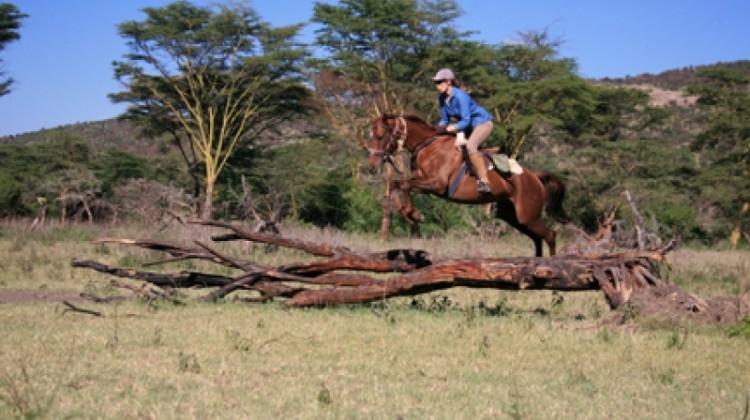 Alice Rides in Kenya