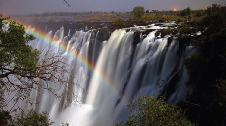 Victoria Falls; an ideal place for a wedding anniversary or wedding proposal in Africa