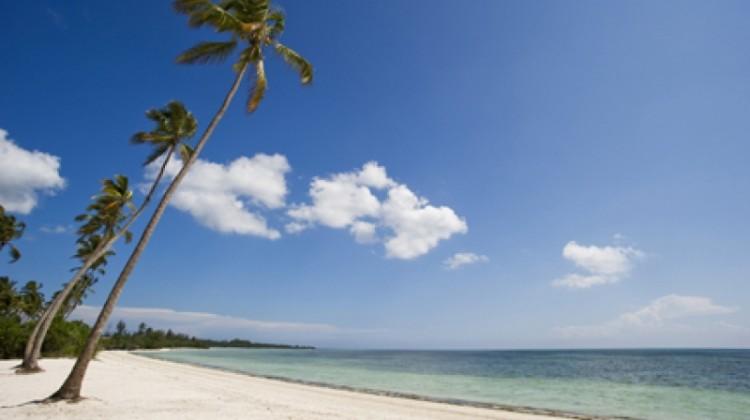 Zanzibar white sand beach