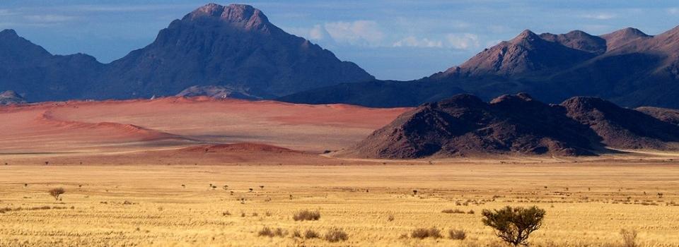 Namibia desert scenery. Image credit Wolwedans
