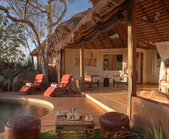 Family safari accommodation