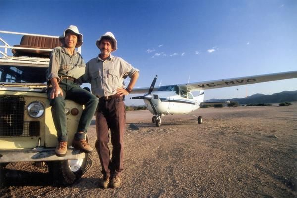 Schoeman brothers pilot guides, Namibia