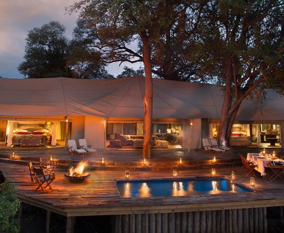Private safari houses