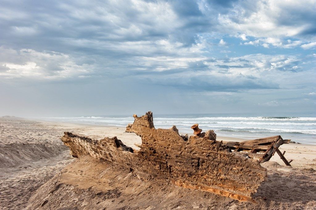 Thousands of shipwrecks define the Skeleton Coast