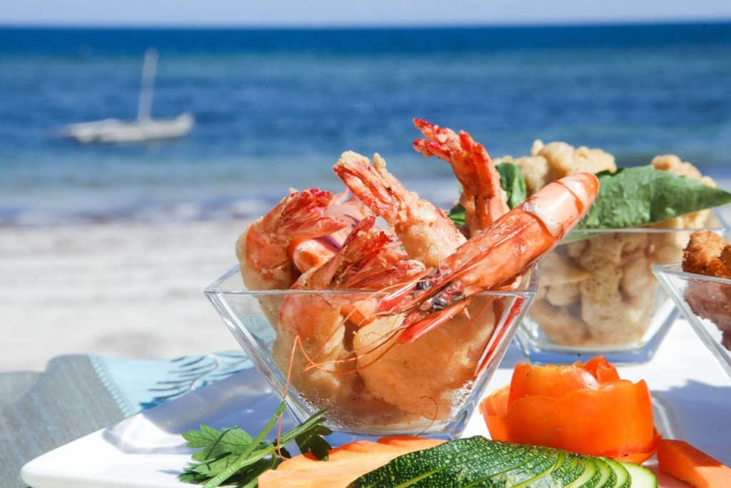 Seafood with a sea view, Saruni Ocean, Kenya