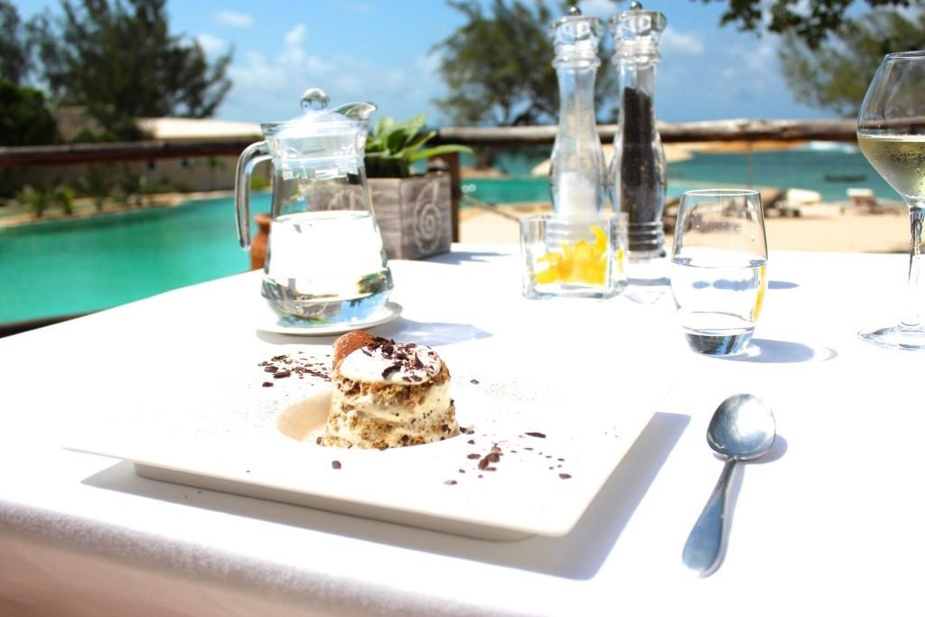 Desert by the pool at Saruni Ocean, Kenya