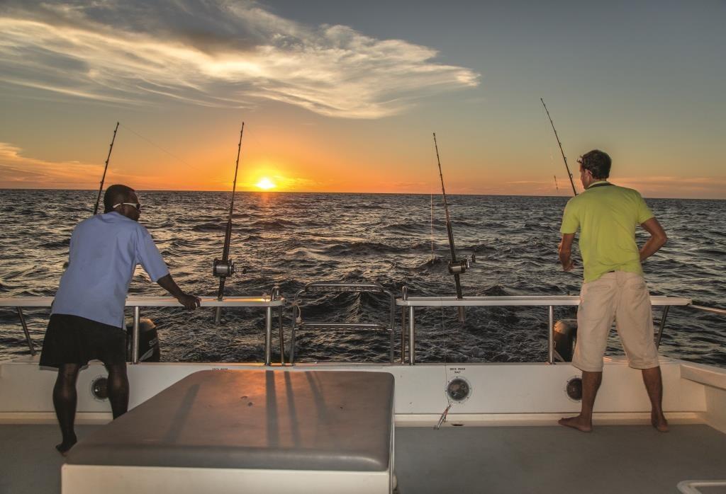 Big game fishing, catch Marlin, Sailfish, Trevally, Dorado, King mackerel, Tsarabanjina