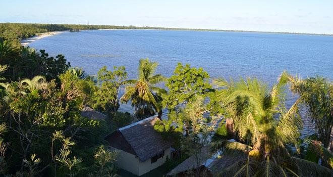 Sea views from Bush House, Andasibe, Madagascar