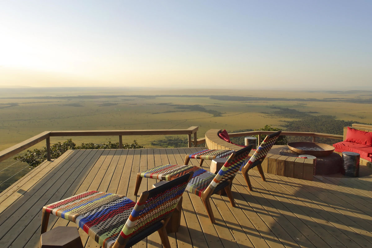 Stunning views of Masai Mara at Angama Mara